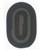 RugStudio presents Colonial Mills Deerfield DF61 Hunter Green Braided Area Rug